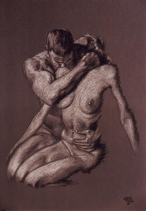 Couple Pastel - Couple 21 by Mohd Raza-ul Karim