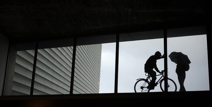 Spain Photograph - Couple At The Window by Rafa Rivas