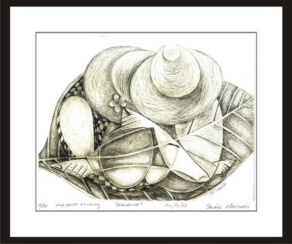 Couple Of Farmers Drawing by Javier Martinez