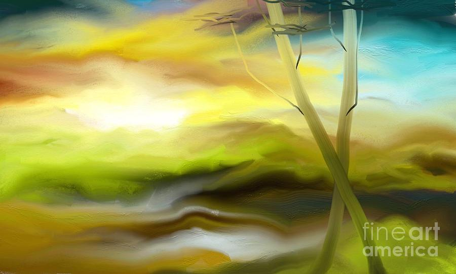 Digital Painting - Couple by Rushan Ruzaick