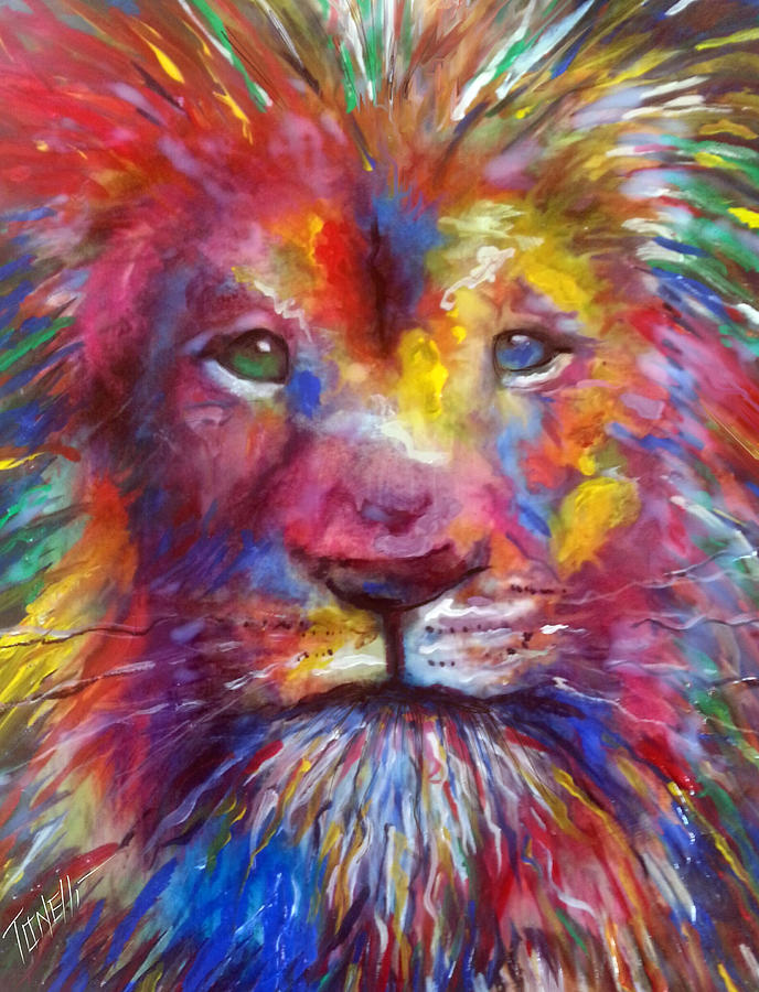 Courage... Painting