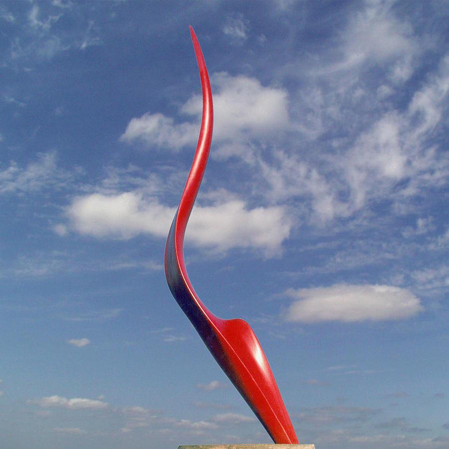 Sculptor Sculpture - Courant D Air by Joel Strill