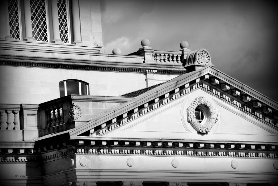 Architecture Photograph - Court In Session by Mary Beth Landis
