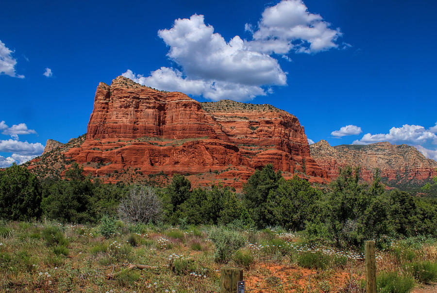 Courthouse Butte by Ola Allen