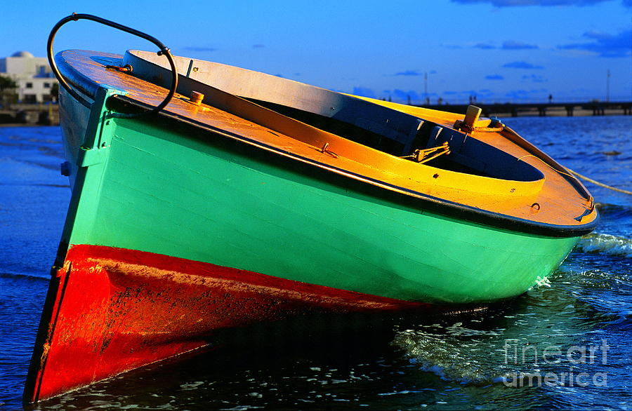 Couta Boat After Storm by Ronald Rockman