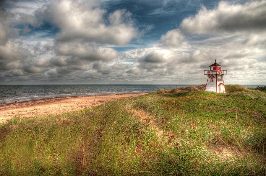 Lighthouse Photograph - Covehead Lighthouse by Elisabeth Van Eyken