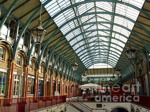 Market Photograph - Covent Garden by Lucia Timbell
