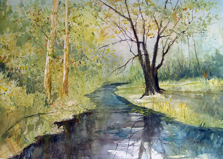 Covered Bridge Park Painting