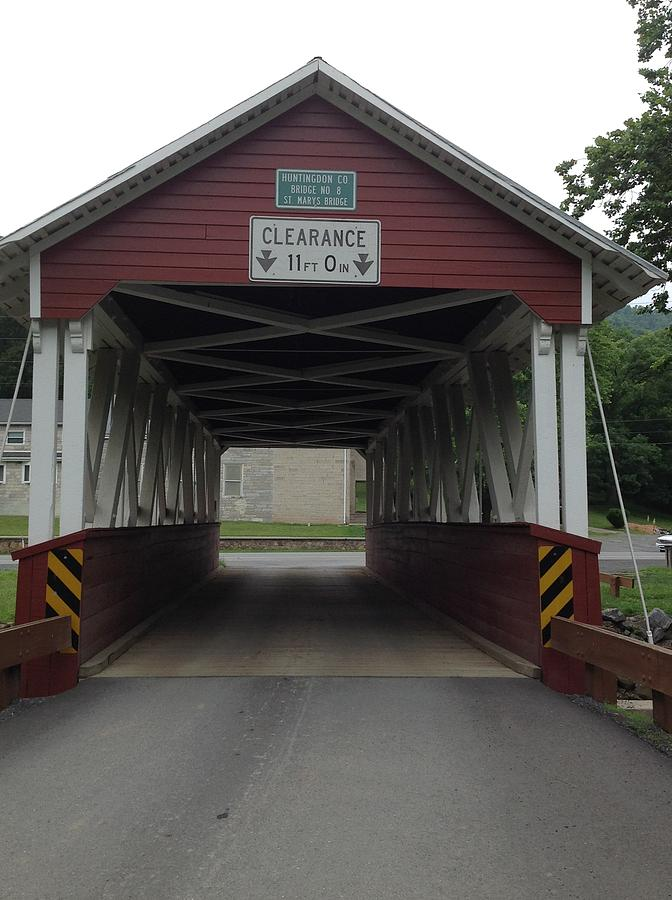 Covered Bridge Pennsylvania  by Wendy S Beatty