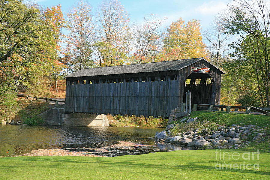 Covered Bridge Photograph - Covered Bridge by Robert Pearson