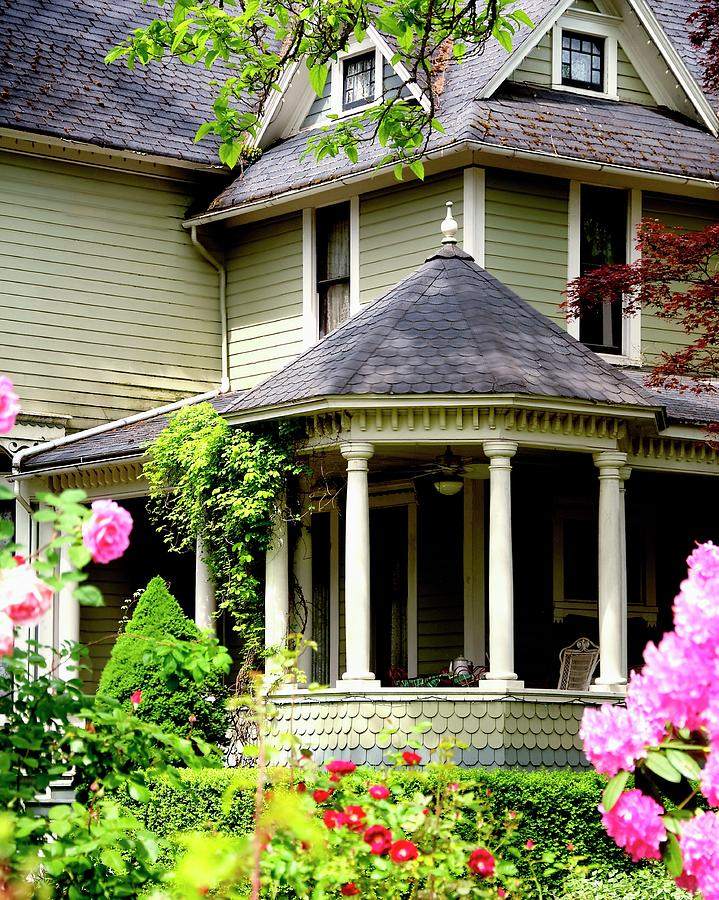 Covered Porch Photograph