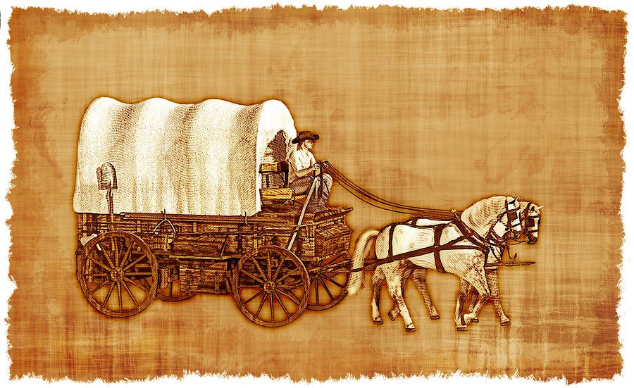 [圖︰ covered-wagon-parchment-2-linda-bucklin.jpg]