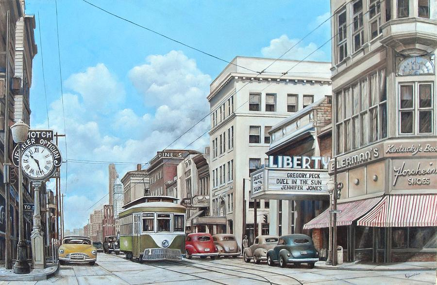 Covington 1946 Painting by Ed Odson