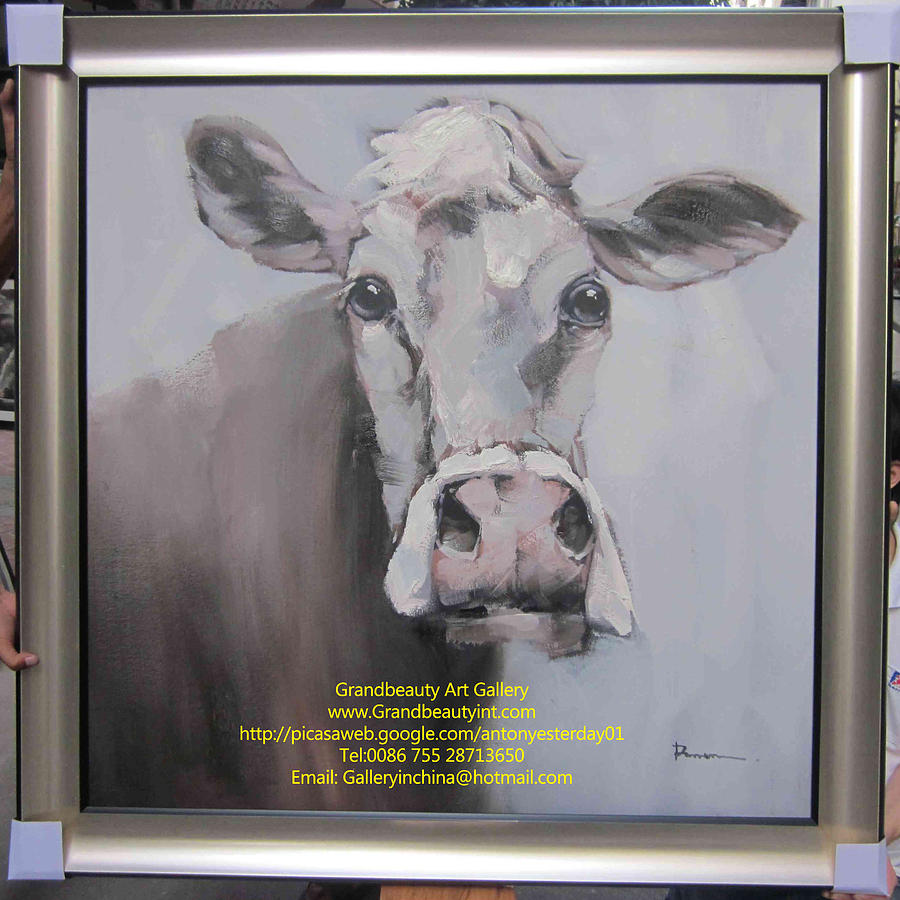 Cow Painting - Cow 2 by Darren