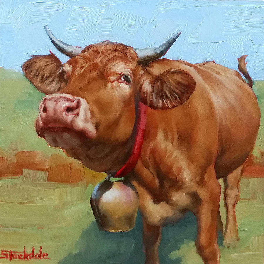 Cow Belle by Margaret Stockdale