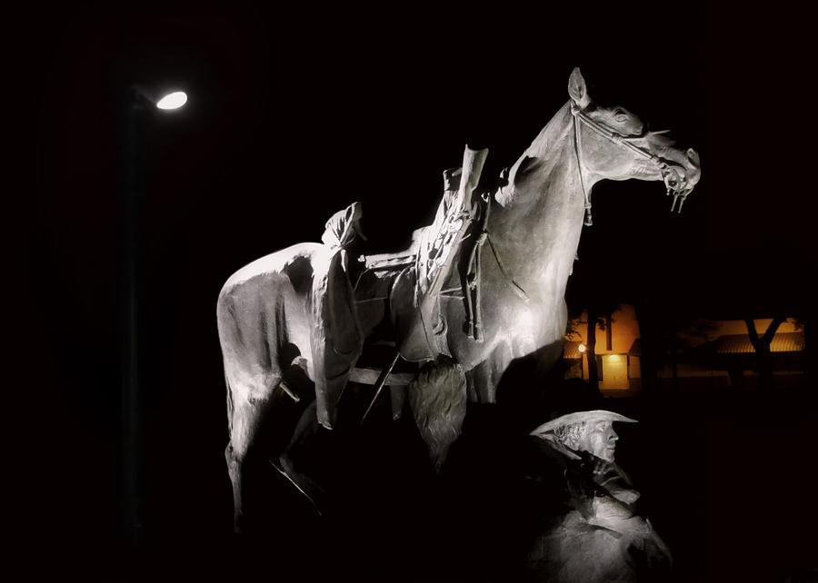 Prescott Photograph - Cowboy At Rest by Christine Till