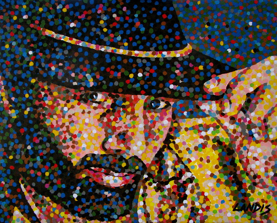 Cowboy Painting - Cowboy Iv by Denise Landis