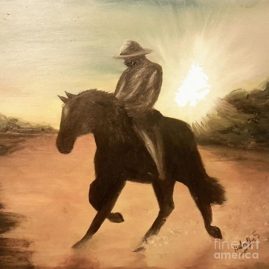 Cowboy on the Range by Abbie Shores