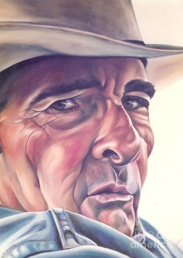 Cowboy Painting - Cowboy by Suzanne Leonard