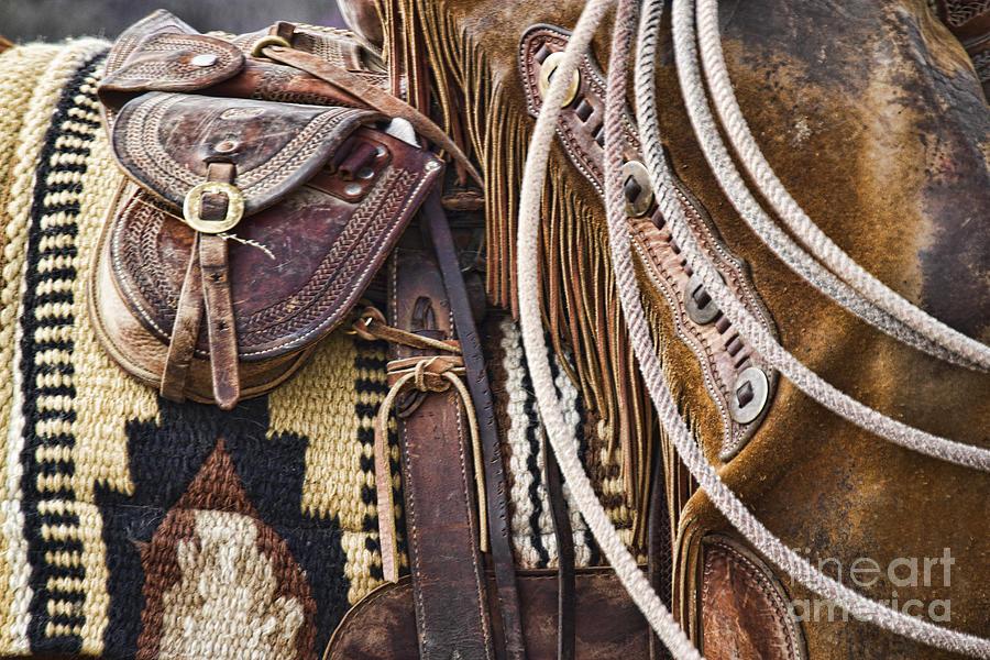 Cowboy Tack by Crystal Nederman