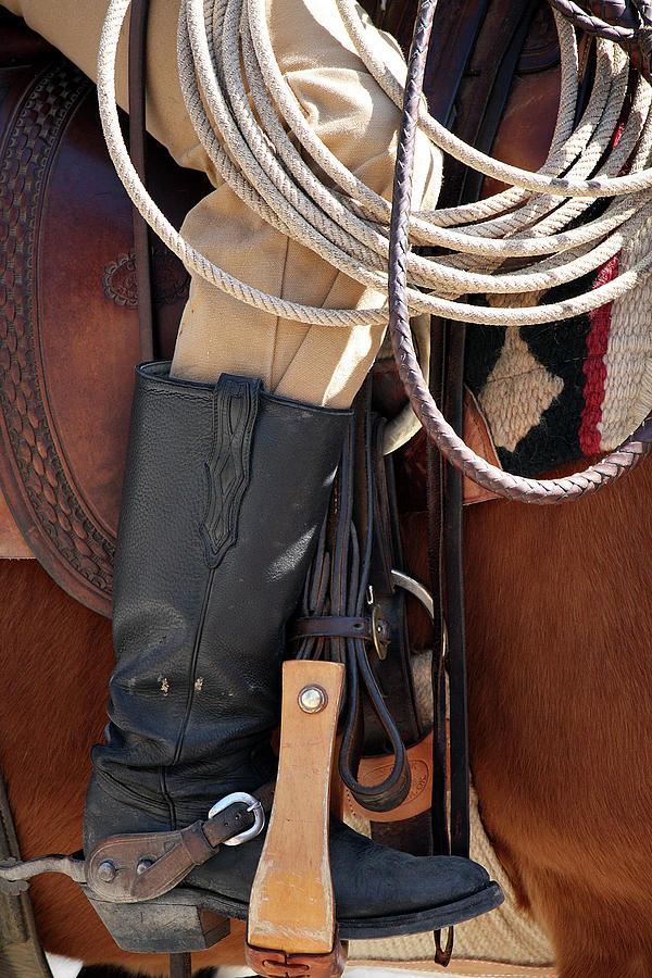 Fort Worth Photograph - Cowboy Tack by Joan Carroll