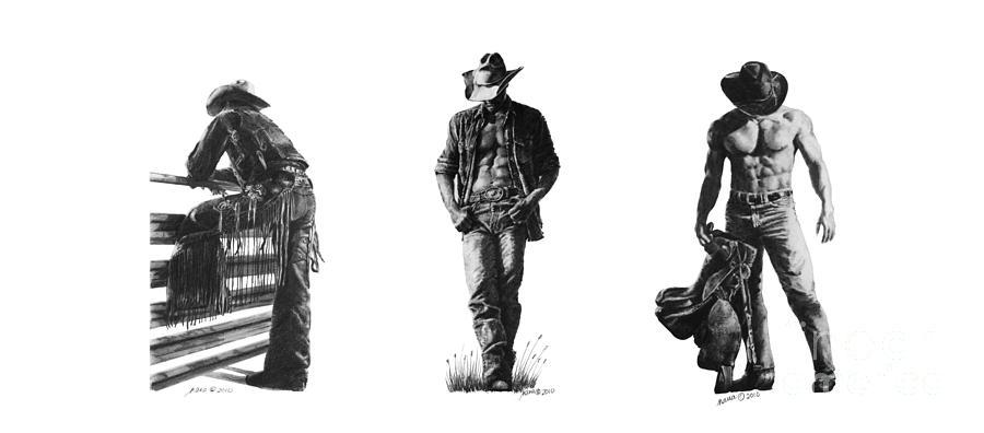 Cowboys by Marianne NANA Betts