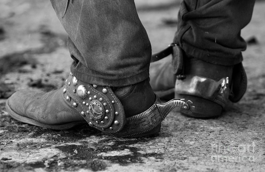 Cowboy Photograph - Cowboys Spurs by Carol Walker