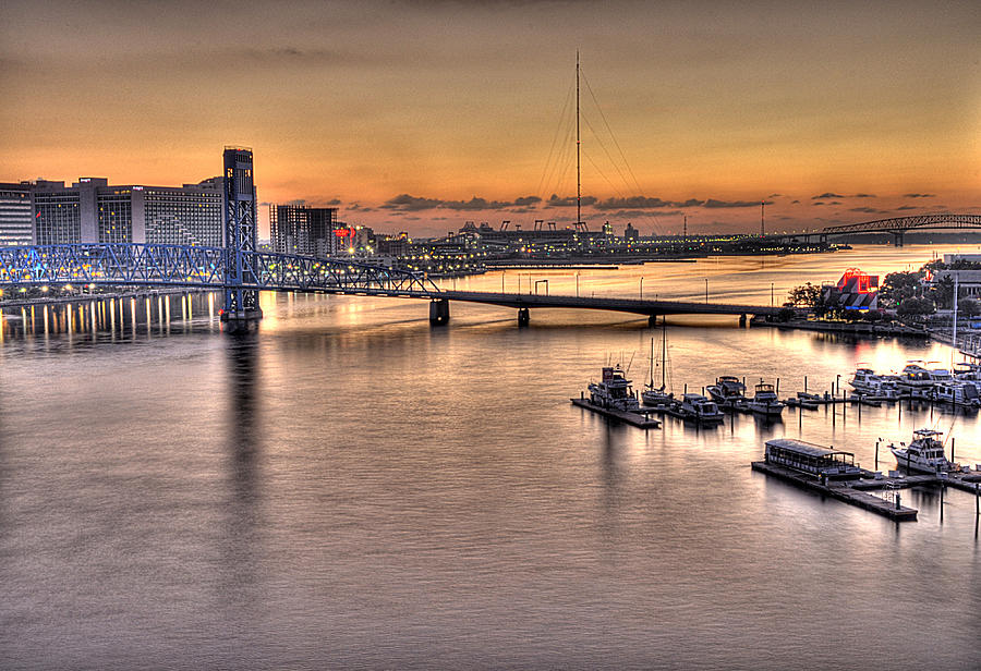 Jacksonville Photograph - Cowford Circa 2010 by William Jones