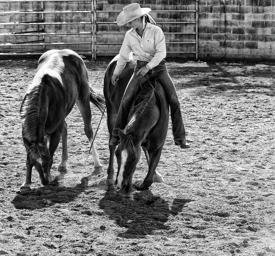 Cowgirl Photograph by DJ Tonie