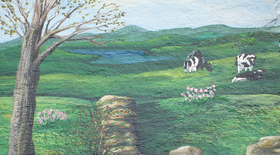 Cows in Field by Barbara McDevitt