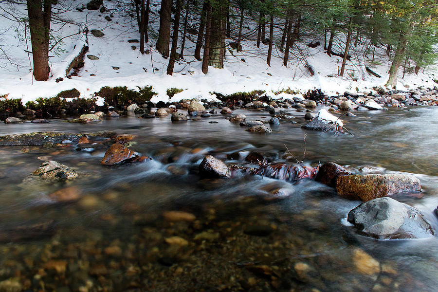 Long Exposure Photograph - Coxing Kill In December #1 by Jeff Severson