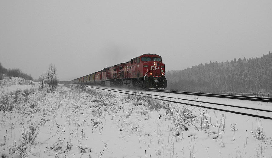 Transportation Photograph - Cp Rail 2 by Stuart Turnbull