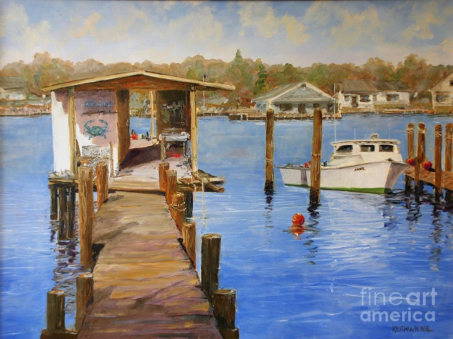 Crab Dock by Keith Wilkie