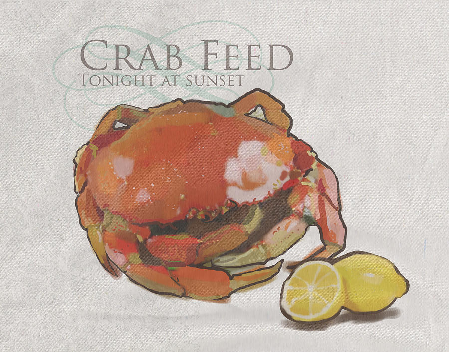 Crab Feed Painting