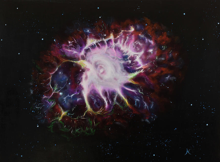 Crab Nebula by Neslihan Ergul Colley