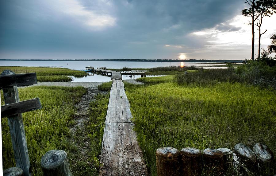 Sunrise Photograph - Crab Walk by Norman Johnson