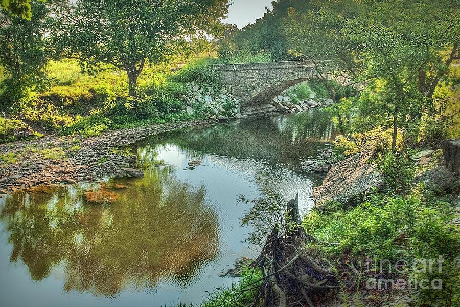 Cowley County Photograph - Stewart  Bridge by Michael Ciskowski