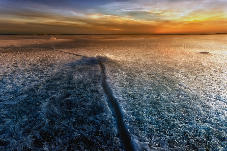 Landscape Photograph - Crack In The World by Piotr Krol (bax)