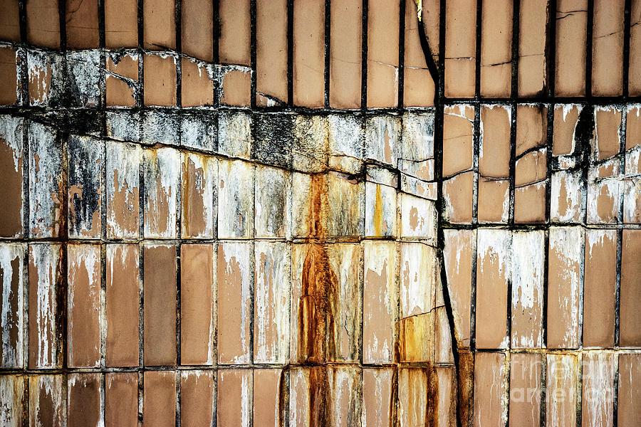 Cracked Old Ceramic Tiles Photograph By Jozef Jankola