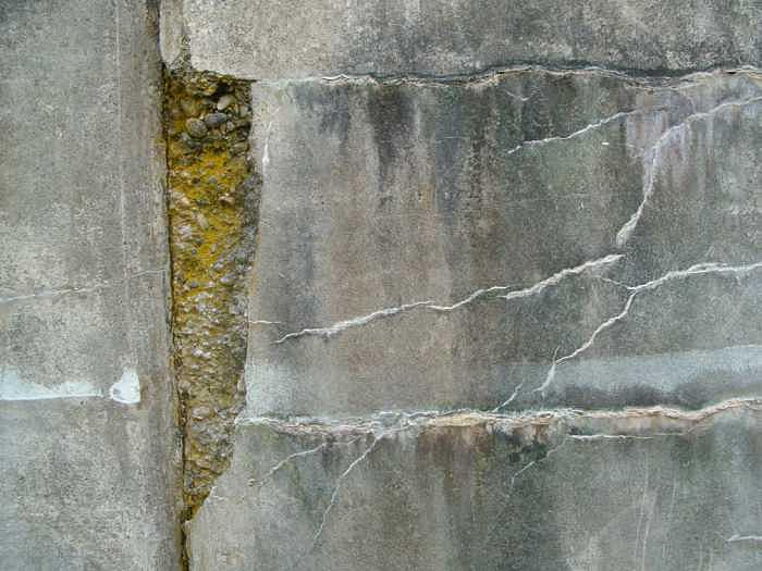 Wall Photograph - Cracked Wall by Claudia Stewart