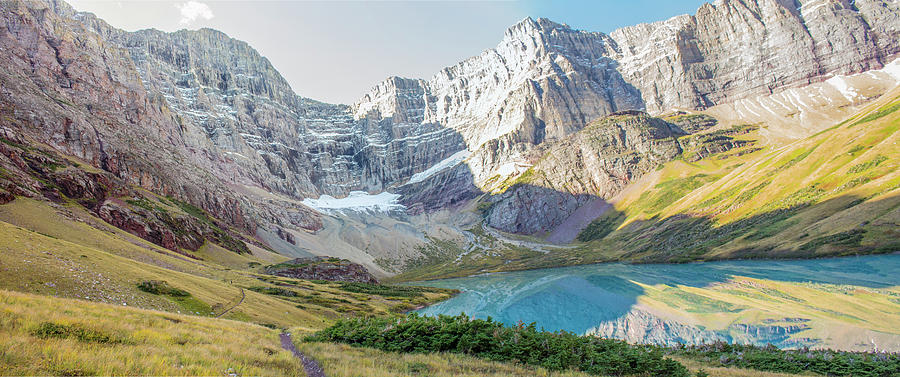 Cracker Lake Photograph - Cracker Lake by Jeff Pfaller