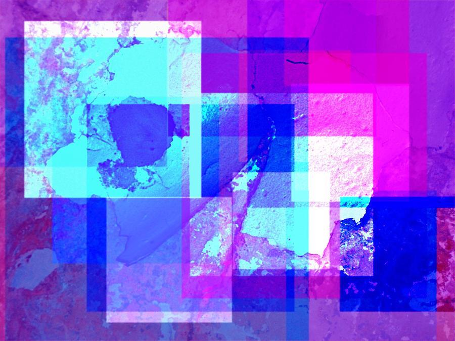 Digital Photograph - Cracklin Wall by Alice Lipping