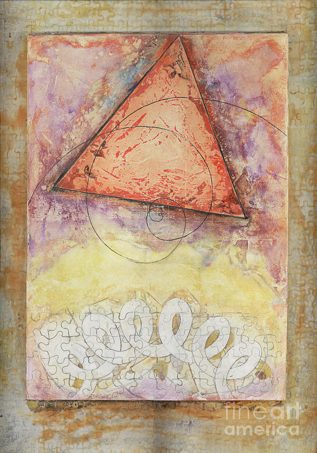 Triangle Mixed Media - Craft Landing by Bill Ritchie