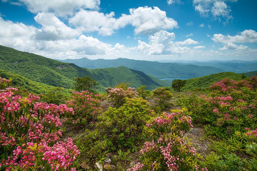 Craggy Gardens Blue Ridge Parkway Stunning Vista by Rick Dunnuck