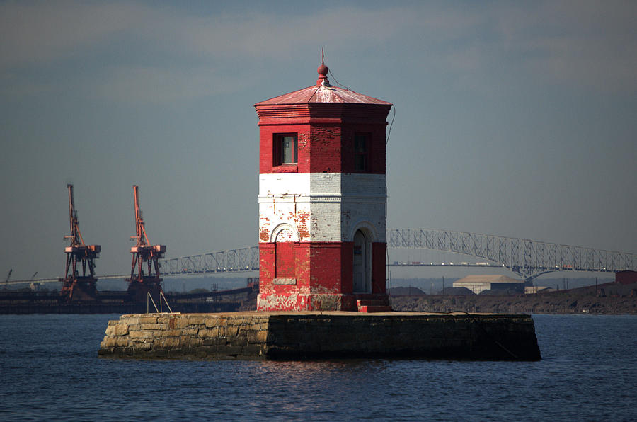 Lighthouse Photograph - Craighill Channel Upper Range Front Light by Wayne Higgs