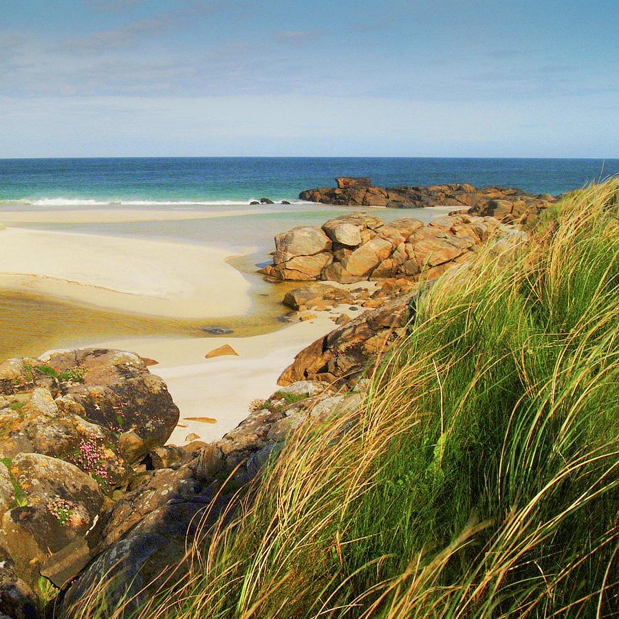 Craigston Beach Isle of Barra by John McKinlay