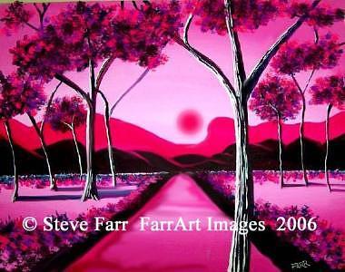 Cranberryforrest Painting by Steve Farr