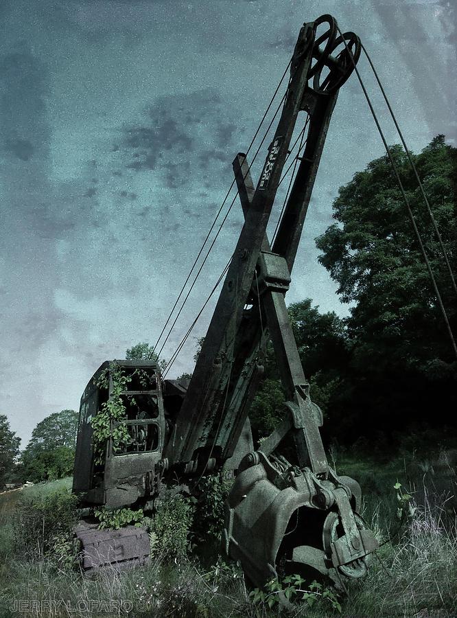 Old Crane Photograph - Crane by Jerry LoFaro