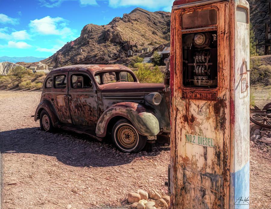 Crank Pump Photograph