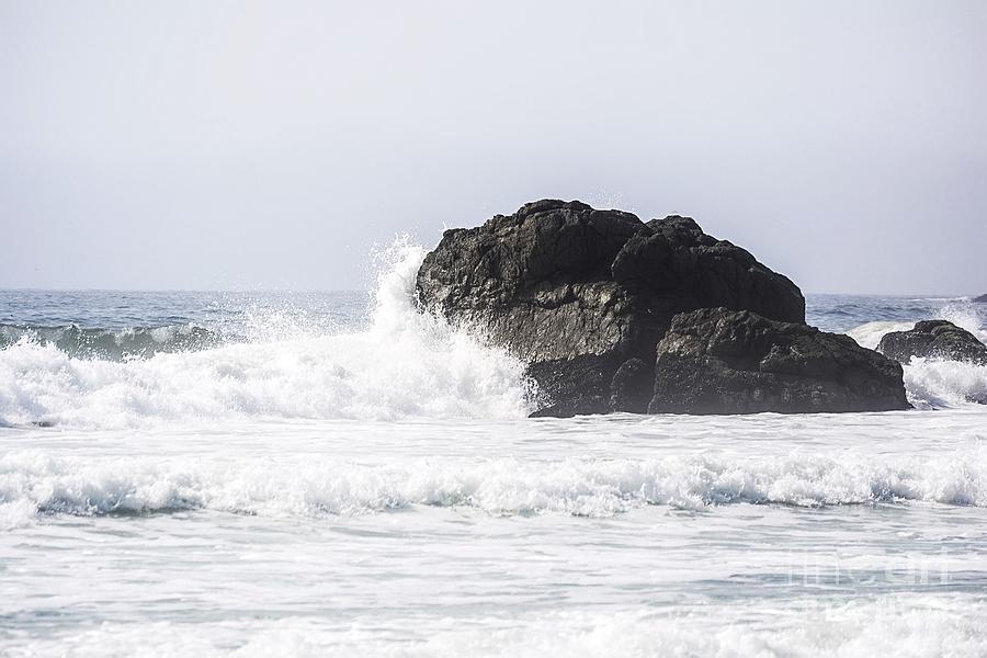 Ocean Photograph - Crash by Stephanie Varner